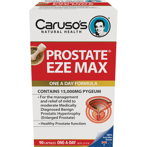 Carusos Prostate Eze Max 15000mg Pygeum 90 Capsules