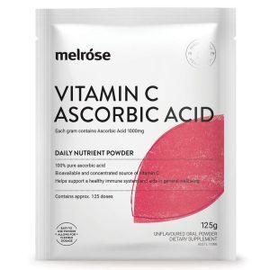 Melrose Vitamin C Ascorbic Acid Sachet 125g