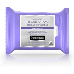 Neutrogena Makeup Remover Towelettes Night Calming – 25 Pack