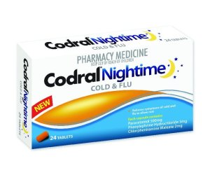 Codral PE Night Time Tablets 24