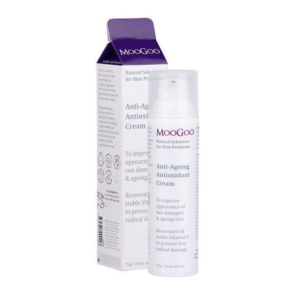 MooGoo Natural Anti-Aging Antioxidants Face Cream 75g 3