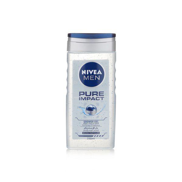 Nivea Men Pure Impact Shower Gel 400ml 3