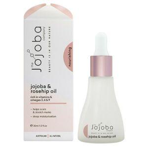 Jojoba Natural Jojoba & Rosehip Oil 30ml