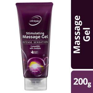 LifeStyles Stimulating Massage Gel 200g