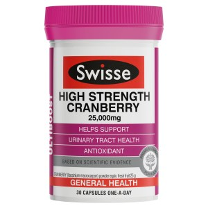 Swisse Ultiboost High Strength Cranberry 30 Pack
