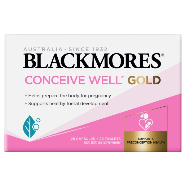 Blackmores Conceive Well Gold 56 Pack 6