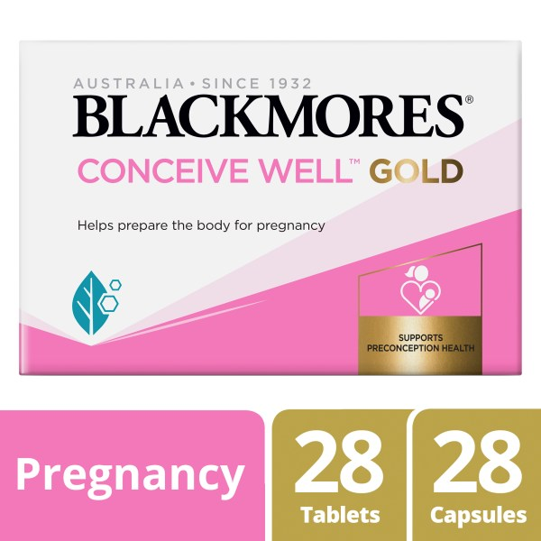 Blackmores Conceive Well Gold 56 Pack 3