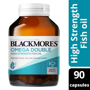 Blackmores Omega Double High Strength Fish Oil 90 Capsules