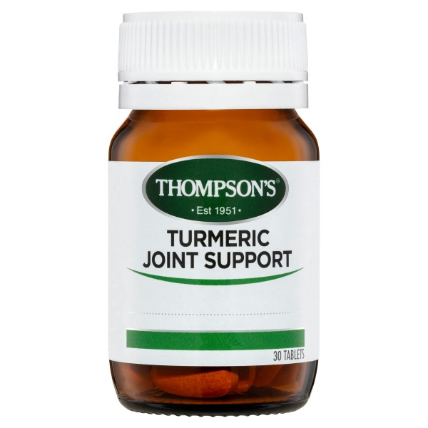 Thompson's Turmeric Joint Support 30 tabs 3
