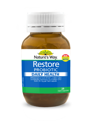 Nature's Way Restore Daily Probiotic Daily Health 28s