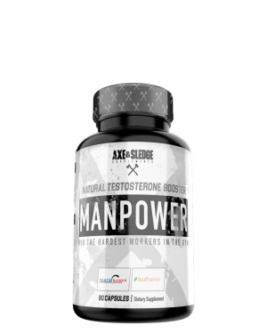 Axe & Sledge Manpower Natural Test Booster 90 Capsules