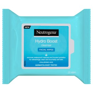 Neutrogena Hydro Boost Cleanser Facial Wipes 25 Pack