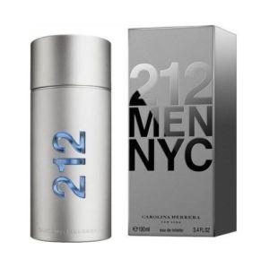 Man's Carolina Toilette 212 NYC Perfume 100ML