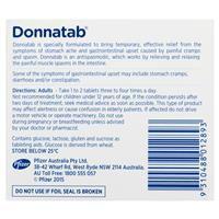 Donnatab Tablets 50 4