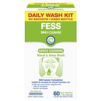 Fess Sinu Cleanse Gentle Cleansing Daily Wash Kit 5