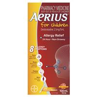 Aerius Allergy Relief Syrup 100mL 4