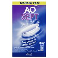 AoSept Plus Economy Pack 360ml and 90ml 4