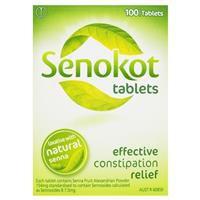 Senokot Tablets Laxative 100 Pack