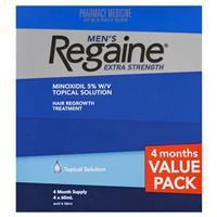 Regaine Men's Extra Strength Hair Regrowth Treatment 4 x 60m 7