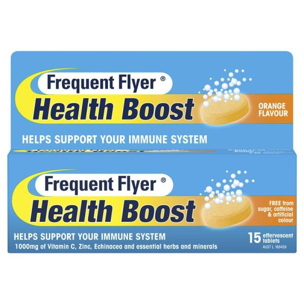 Flyer Health Boost 15 Effervescent Tablets 13