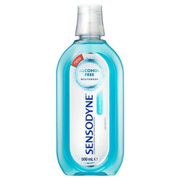 Sensodyne Sensitive Cool Mint Gentle Mouthwash 500 mL 3