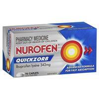 Nurofen Quickzorb 96 Caplets 342mg 3