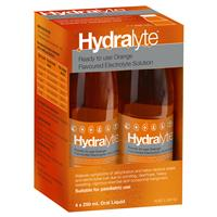 Hydralyte Electrolyte 4 Pack 4x250ml