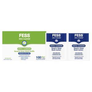 Fess Sinu Cleanse Gentle Nasal and Sinus Wash Sachets 100g Refills