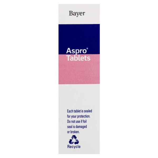 Clear Aspro Pain Relief 20 Tablets 6