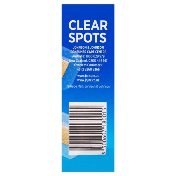 Band-Aid Clear Spots 40 Pack 7