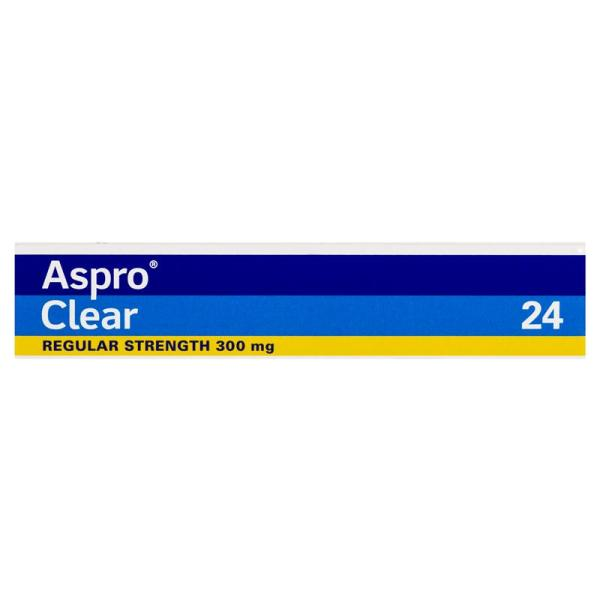 Aspro Clear Pain Relief 24 Soluble Tablets 7