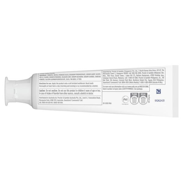 Oral B Toothpaste 3D White Brilliance Charcoal 120g 9