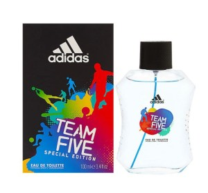 Adidas Team Five Eau De Toilette 100ml (Limited Edition)