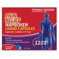 Pain Relief Naproxen Liquid 30 Capsules 3