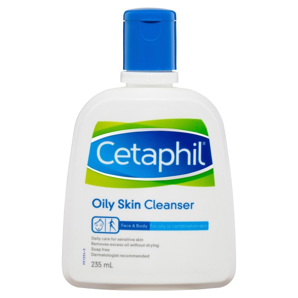 Cetaphil Oily Skin Cleanser 235mL, Oily and Combination Skin 3