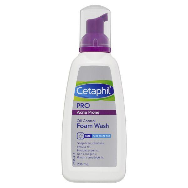 Cetaphil Pro Acne Prone Oil Control Foam Face Wash 236mL 3