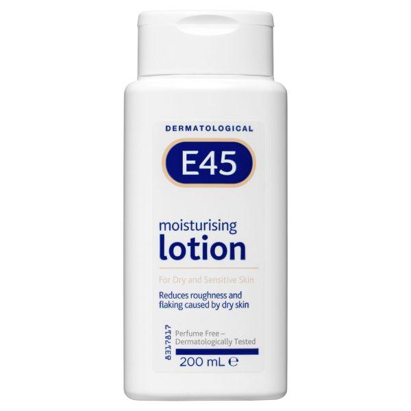 E45 Moisturising Lotion for Dry skin  200mL 3