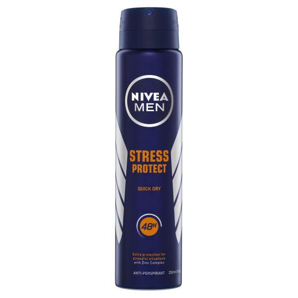 NIVEA MEN Stress Protect Anti-Perspirant Aerosol Deodorant 250ml 3