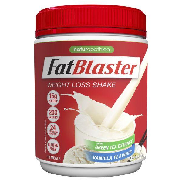 FatBlaster Weight Loss Shake Vanilla 430g