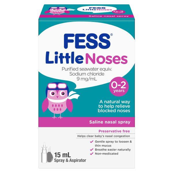 FESS Little Noses Nasal Spray + Aspirator 3
