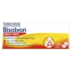 Bisolvon Chesty Forte 30 Tablets