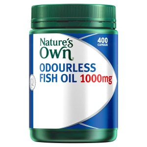 Nature's Own Odourless Fish Oil 1000mg