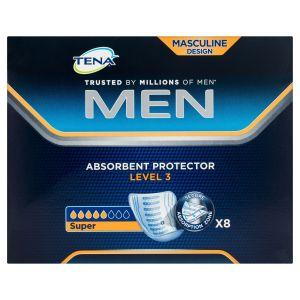 Tena Men Absorbent Protector Level 3 Super 8 Pack