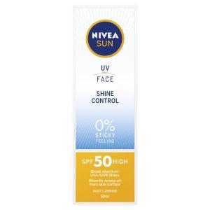 NIVEA UV Face Shine Control SPF50 50ml