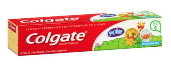 Colgate My First Mild Mint Gel Kids Toothpaste up to 6 years 45g 3