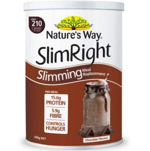 Nature's Way slim Right Slimming Meal Replacement Chocolate Flavour 500g