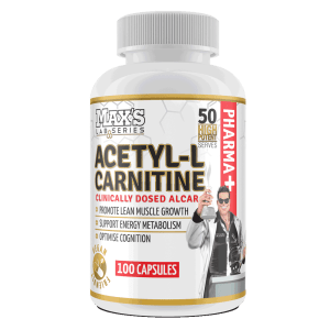 Max's Natural Weight Loss Capsules Acetyl-l Carnitine