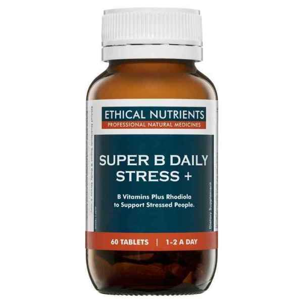 Ethical Nutrients Super B Daily Stress + 60 Tablets SHORT DATED EX: 10/21 3