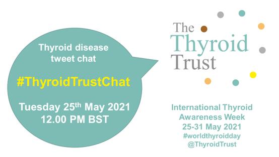 International Thyroid Week tweet chat