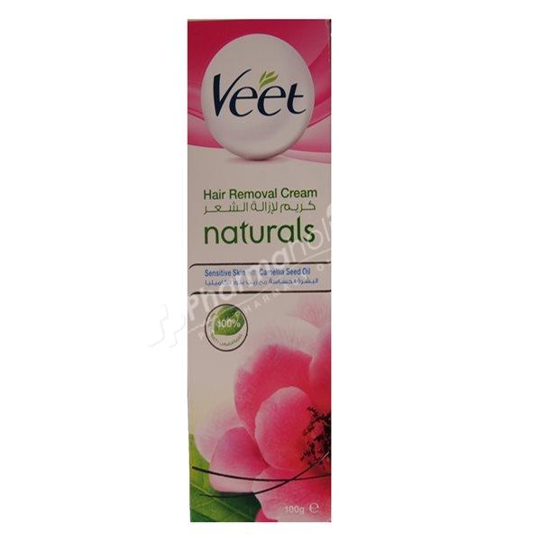 Veet Naturals Hair Removal Cream For Sensitive Skin 100ml Pharmaholic